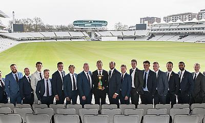 County Champions Essex awarded The Lords Taverners ECB Trophy by Sir Michael Parkinson and Colin Graves
