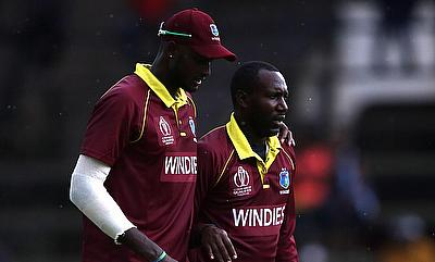 Jason Holder (left) and Kesrick Williams will be key for Windies with the ball