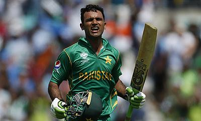 Fakhar Zaman smashed nine boundaries and six maximums
