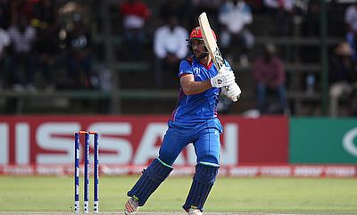 Rahmat Shah scored 68 runs in the chase
