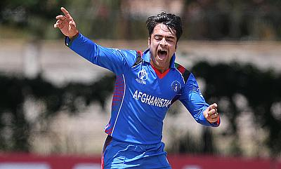 Rashid Khan picked a five-wicket haul against UAE