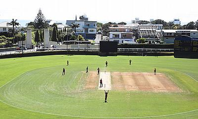 The Pukekura Park in New Plymouth also hosted the third game of the series