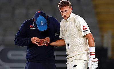 Joe Root's (right) finger injury proved costly for England