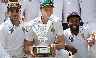 South Africa win fourth Test after explosive spell of bowling by Philander