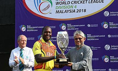 Uganda and Denmark qualify for ICC World Cricket League Division 3