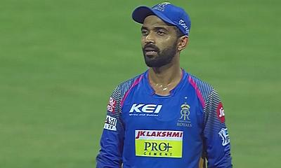 Rajasthan Royals captain Ajinkya Rahane has been fined for Code of Conduct Breach
