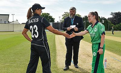 New Zealand White Ferns set world record total in win over Ireland Women