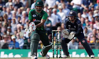 Pakistan win the 1st T20 in Edinburgh against Scotland
