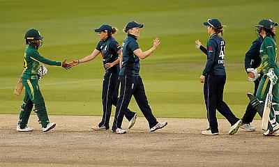 England Level It Up At Hove against South Africa Women
