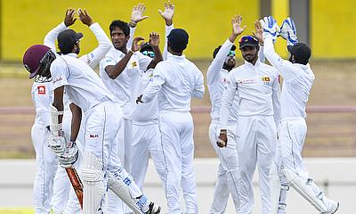 WINDIES v Sri Lanka - Second Test Second  Day
