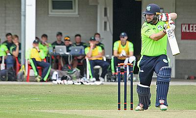 Ireland in thrilling tied match after big run chase against Scotland
