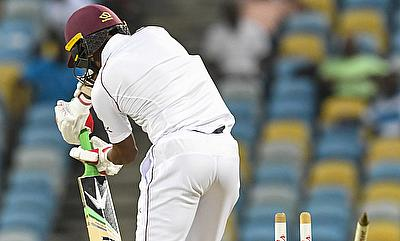WINDIES v Sri Lanka third day of the Test at Kensington Oval in Bridgetown Barbados.