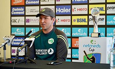 Ireland v India T20Is - Gary Wilson Ireland Captain fields questions from the Media