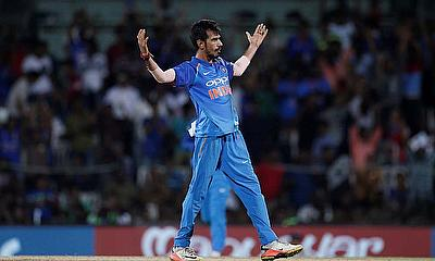 Yuzvendra Chahal speaks to the media ahead of the match against Ireland starting tomorrow