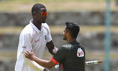 WINDIES v Bangladesh on the third day of the first Test