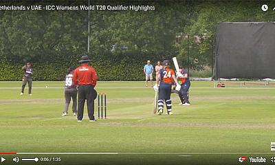 Netherlands v UAE -ICC Womens World T20 Qualifier Highlights