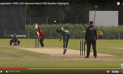 Bangladesh v PNG -ICC Womens World T20 Qualifier Highlights