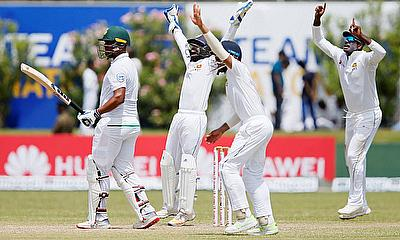Sri Lanka spin a web around South Africa on Day 2 of 1st Test