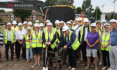 Local MP Breaks Ground on New Clubhouse