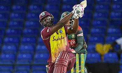 Windies beat Bangladesh in 1st T20I by 7 wickets (D/L)