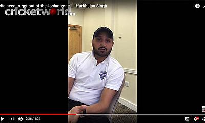 Harbhajan Singh speaks to Cricket World TV prior to the 2nd Test at Lord's