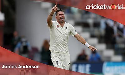 Cricket World Player of the Week - Jimmy Anderson England and Lancashire CCC