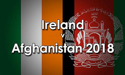 Afghanistan tour of Ireland 2018
