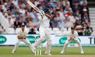 Shikhar Dhawan in action Action
