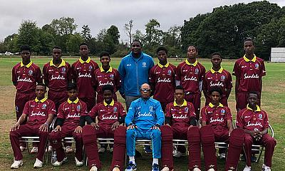 Windies under 15 returns from a winning tour of the UK