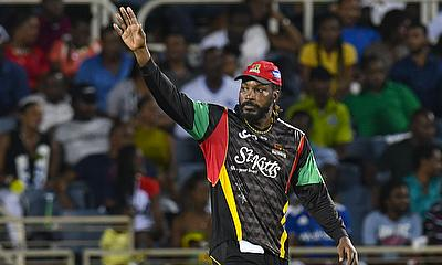 Chris Gayle of St Kitts