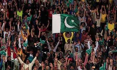 Crowds at the  Pakistan Super League