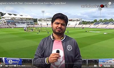 England v India 4th Test - Cricket World Live from the Ageas Bowl