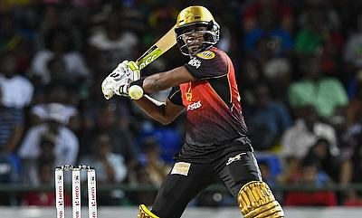 Dwayne Bravo of Trinbago Knight Riders