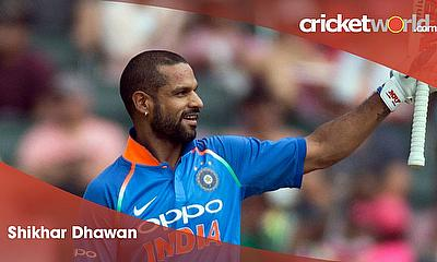 Cricket World Player of the Week - Shikhar Dhawan India