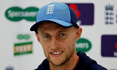 Joe Root during the press conference