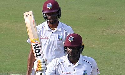 Roston Chase leads WINDIES resistance against India on opening day
