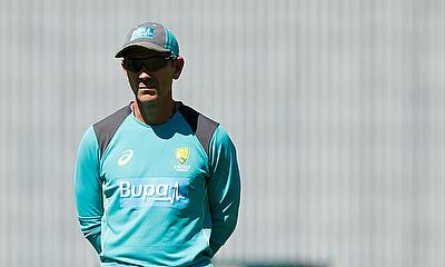 Justin Langer speaks to the media after Pakistan won Test Series