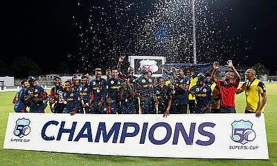 Brathwaite and Crandon After Marooners Win Super50 Cup Grand Final