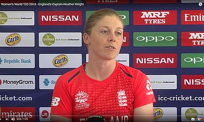ICC Women's World T20 2018 - England's Captain Heather Knight