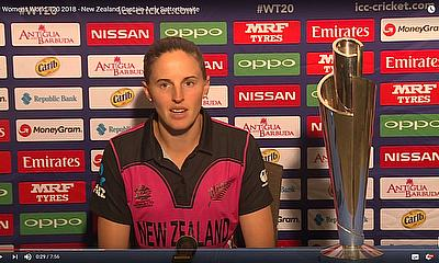 ICC Women's World T20 2018 - New Zealand Captain Amy Satterthwaite