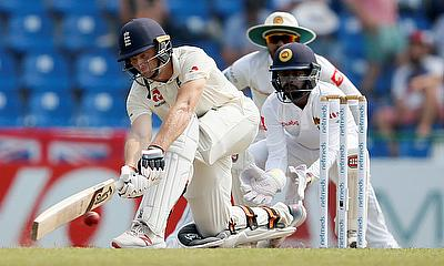 Honours even at close of play on Day 1 of 2nd Test Sri Lanka v England