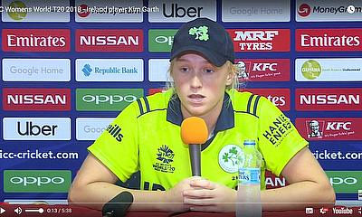 ICC Womens World T20 2018  - Ireland player Kim Garth