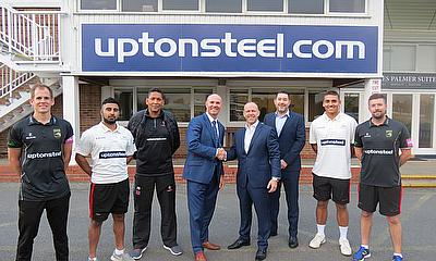 Uptonsteel become the Official Club Partner of Leicestershire CCC