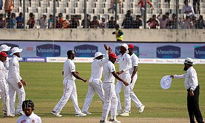 Windies Bowlers Control Bangladesh on Day One of Second Test