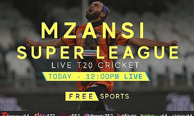 Live Cricket Streaming Today – Mzansi Super League
