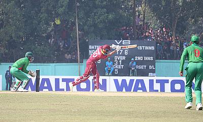 Fading light costs WINDIES victory in ODI warm-up