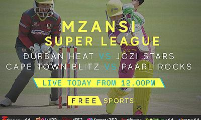 Live Cricket Streaming today - Mzansi Super League