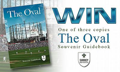 Win one of three copies of The Oval Souvenir Guidebook