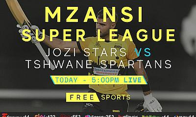Live Cricket Streaming today - Mzansi Super League - Jozi Stars v Tshwane Spartans