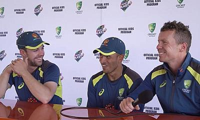 Kids Ask Australian Cricketers the 'Big' Questions